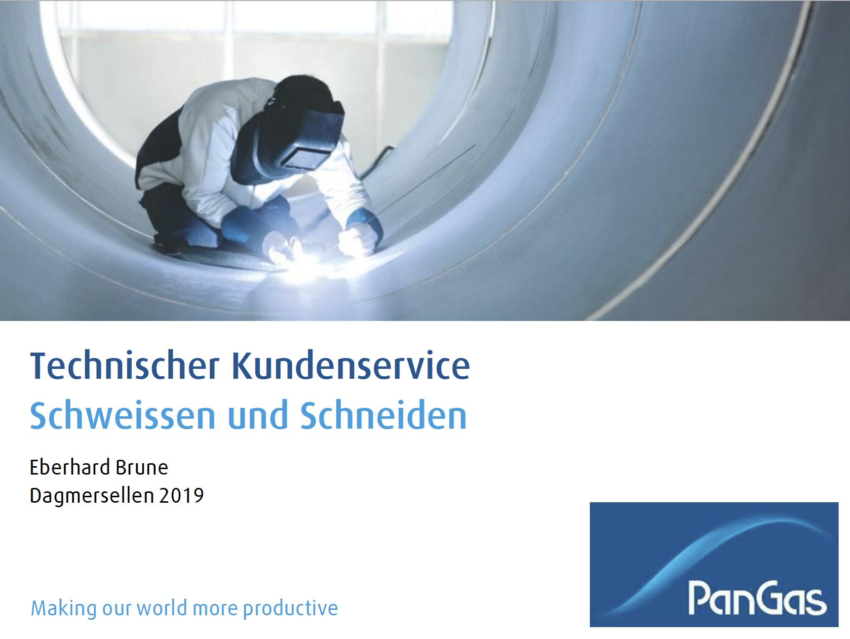 Vortrag Mischmeistertagung 2020, Schweissen und Schneiden