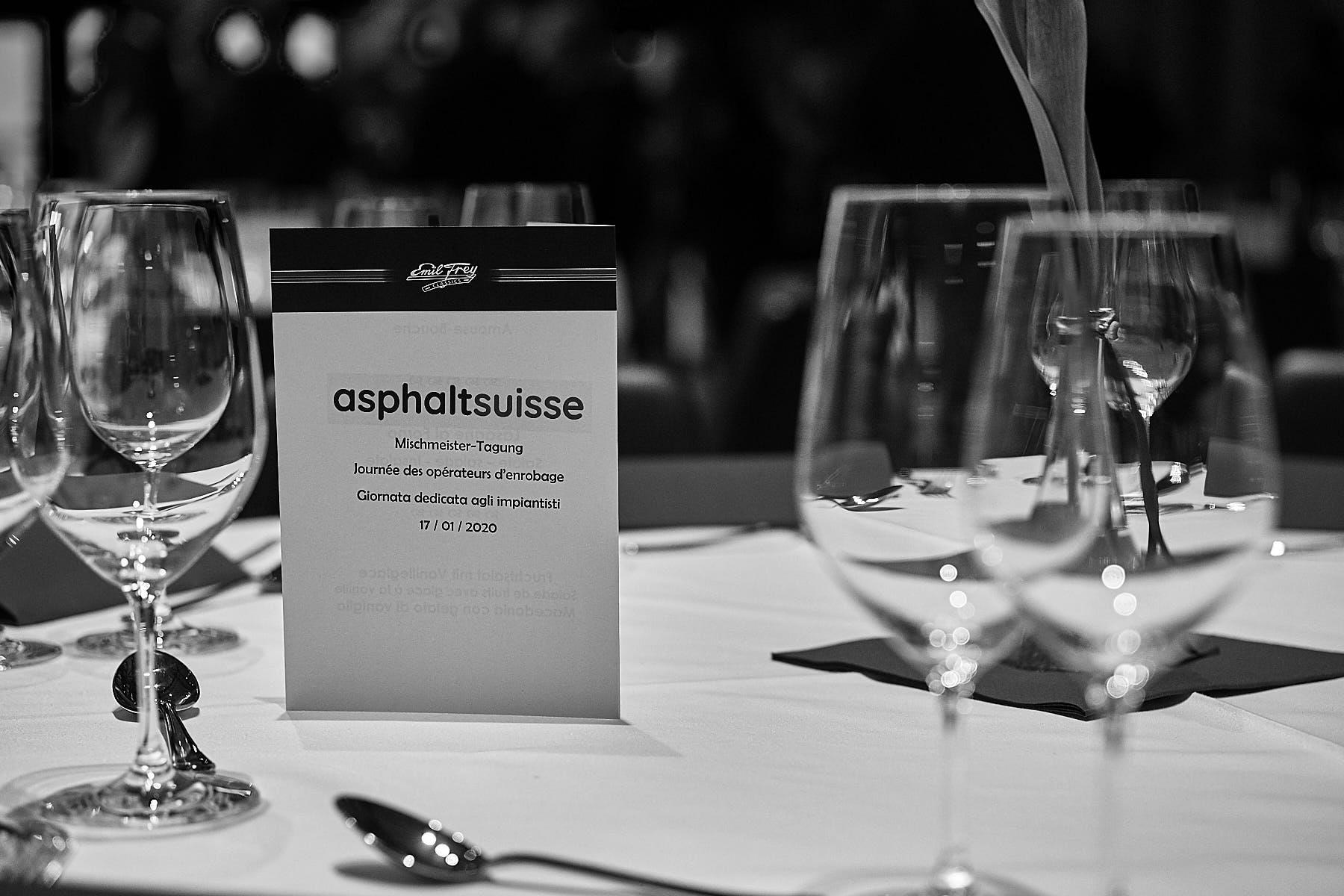Industriefotografie für den Verband asphaltsuisse, Veranstaltungsfotografie Mischmeistertagung 2020